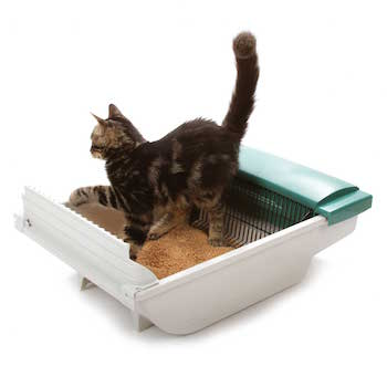Pet Zone Smart Scoop Automatic Cat Litter Box