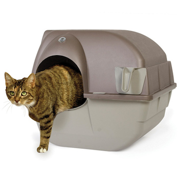 Roll n Clean Self-Cleaning Litter Box