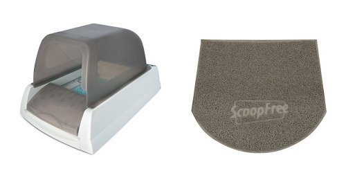 ScoopFree Ultra Self Cleaning Litter Box and Mat