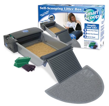 smartscoop automatic self cleaning cat litter box